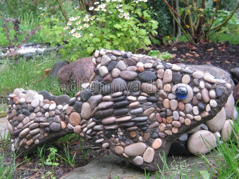 Из камней для дачи своими руками фото 58